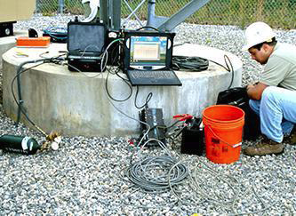 NDT Testing of Tower and Sign Pads & Footing