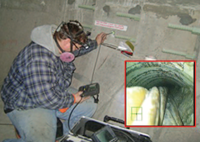 Borescope Inspection of Post-Tensioning Ducts