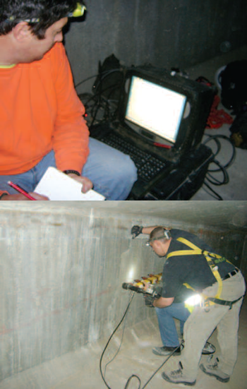 GPR and Ultrasonic/Sonic Testing